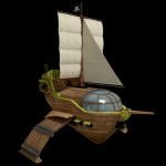 caméléon pirate
